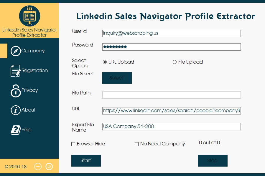 LinkedIn Lead Extractor